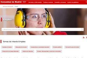 Portal público de empleo de la Comunidad de Madrid