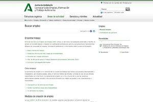 Portal de Empleo de la Junta de Andalucía